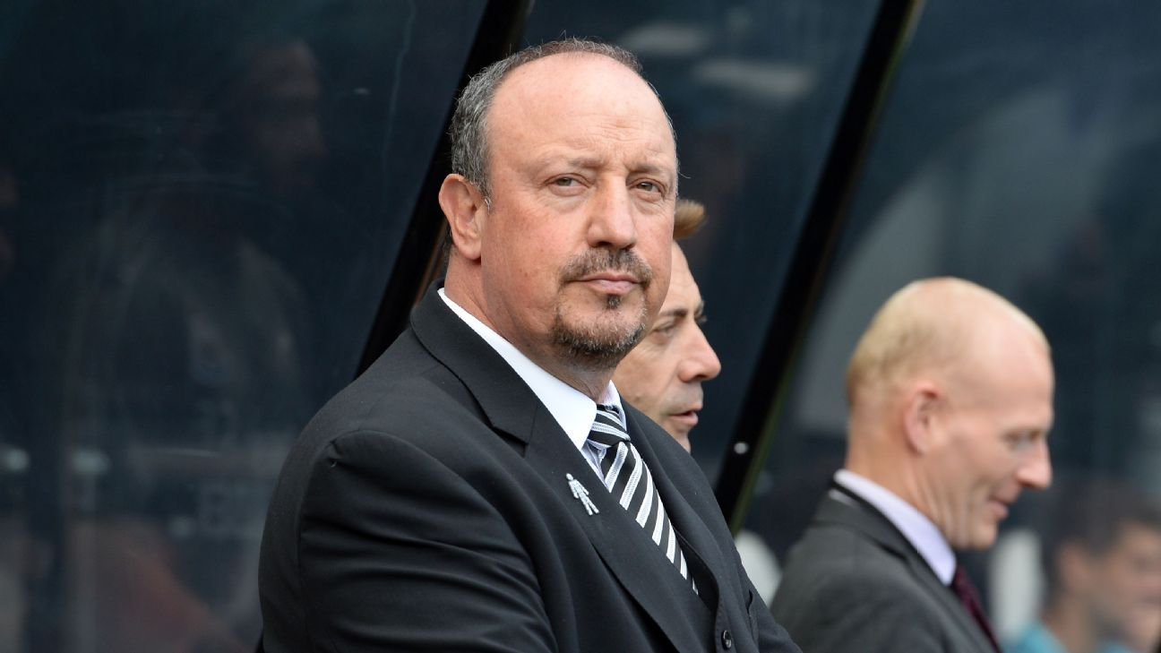 Rafa Benitez is having a tough season at Newcastle United, but he knows how he wants to play the game.