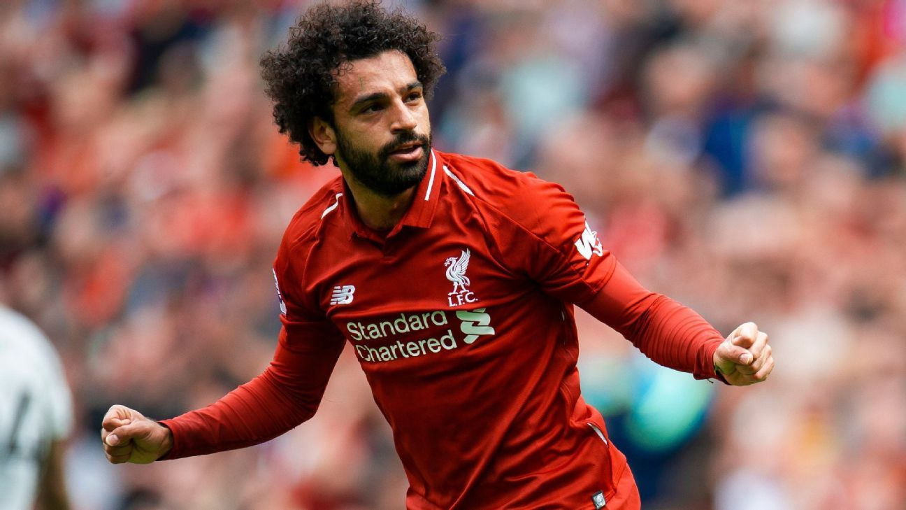 Mohamed Salah scored 44 goals for Liverpool last season.
