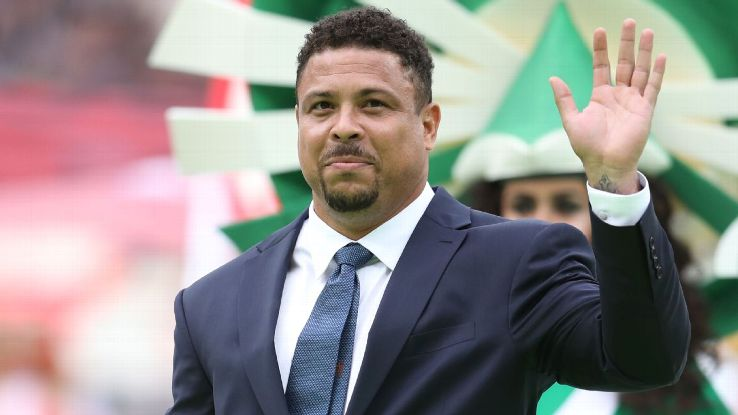 Ronaldo, a 2002 World Cup winner with Brazil, was at the opening ceremony for the 2018 tournament