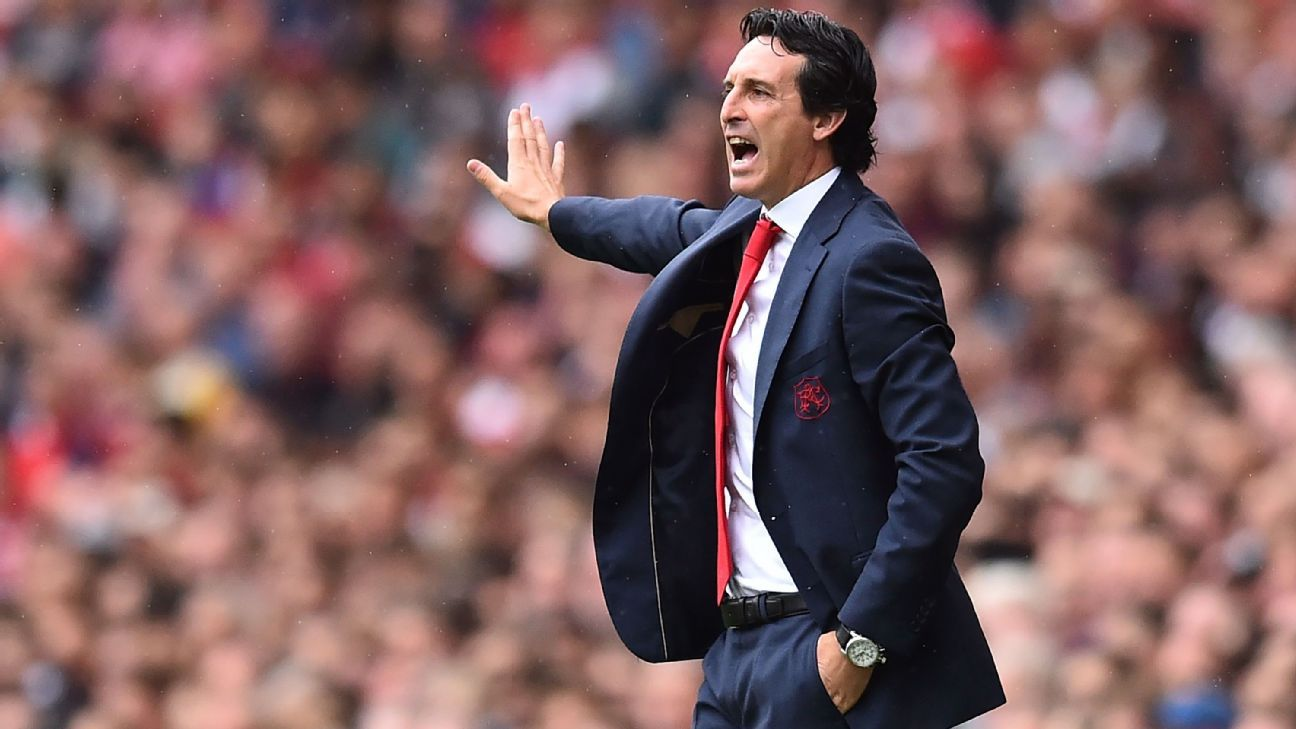 Unai Emery looks for Arsenal to bounce back against Chelsea following their season-opening loss to Manchester City.