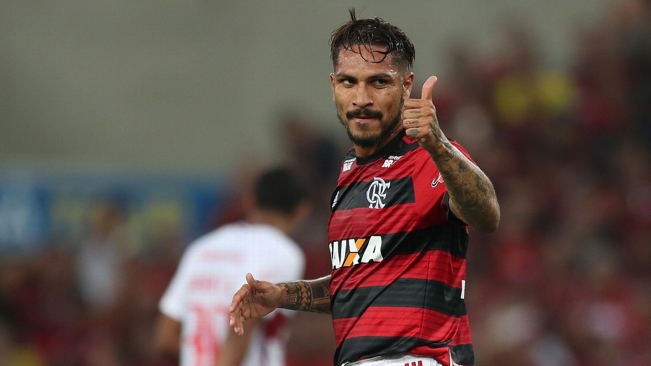 Paolo Guerrero signed for Flamengo in 2015.