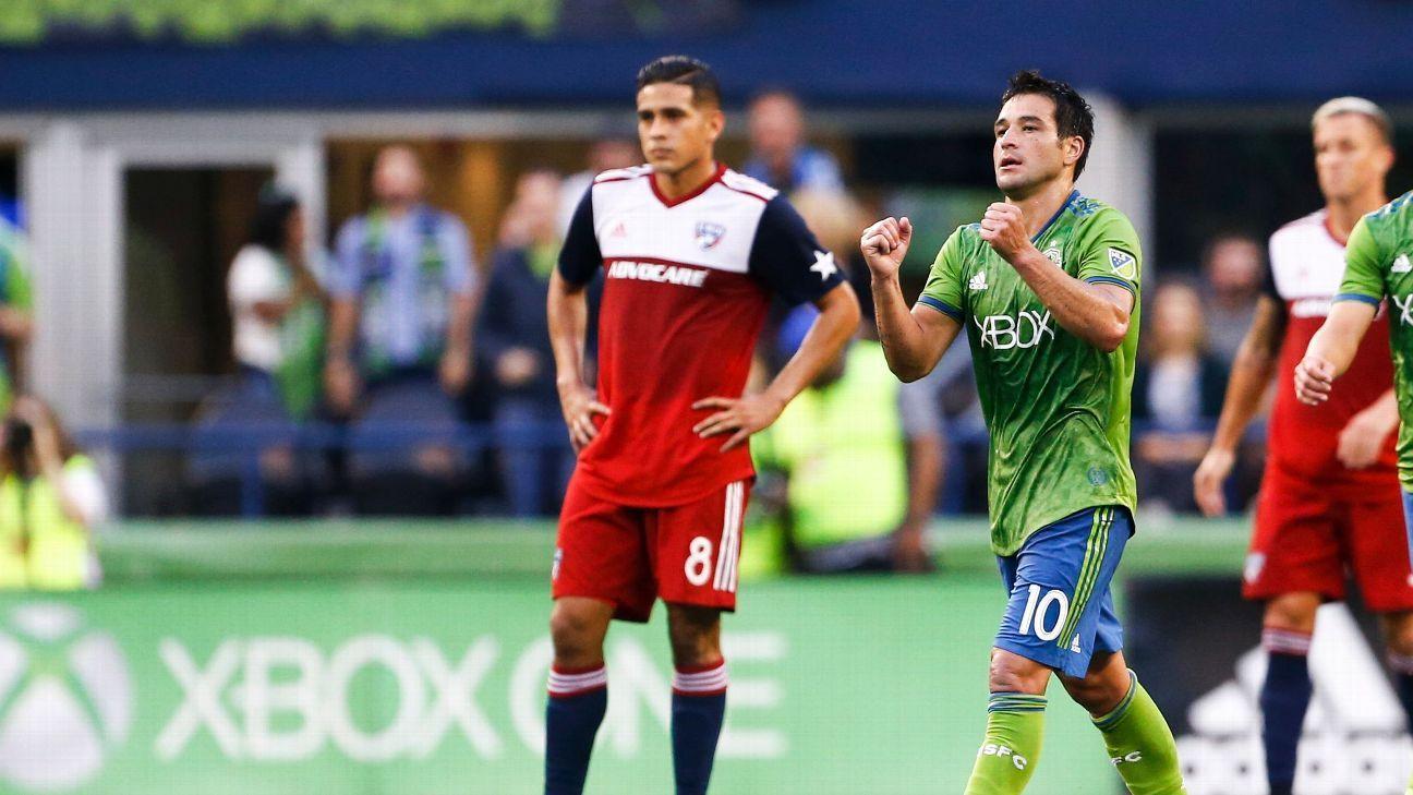 Seattle Sounders defeat FC Dallas, run unbeaten streak to 8