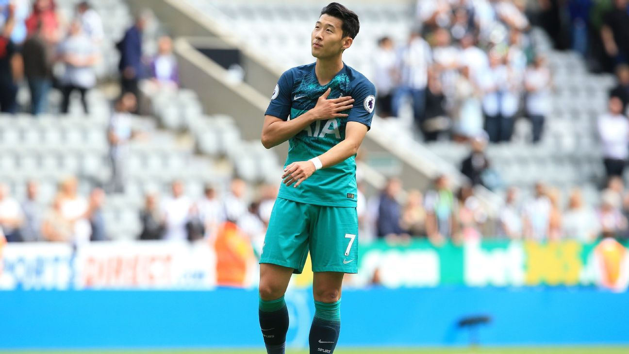 Son Heung-min will miss at most three games for Tottenham due to the Asian Games.