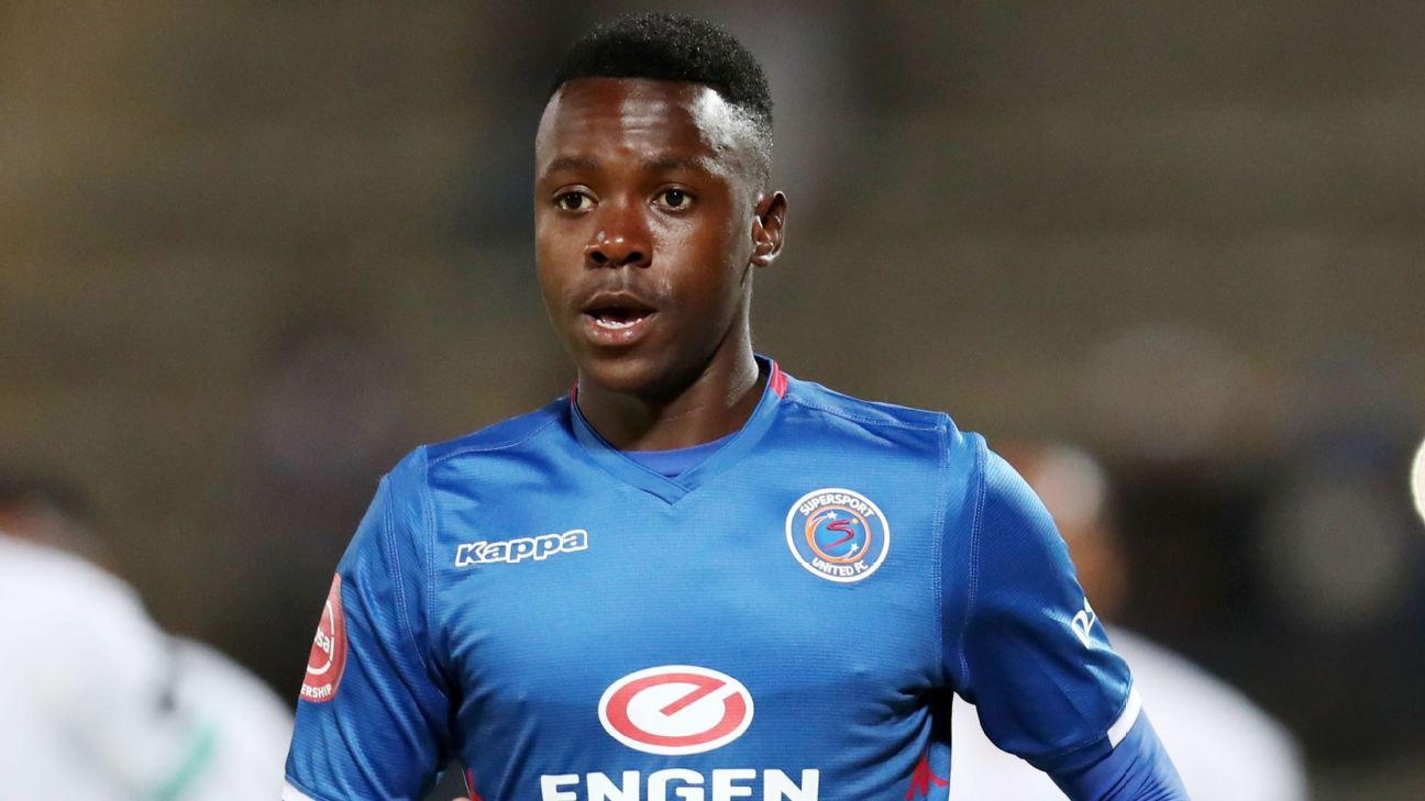 Ghampani Lungu of SuperSport United