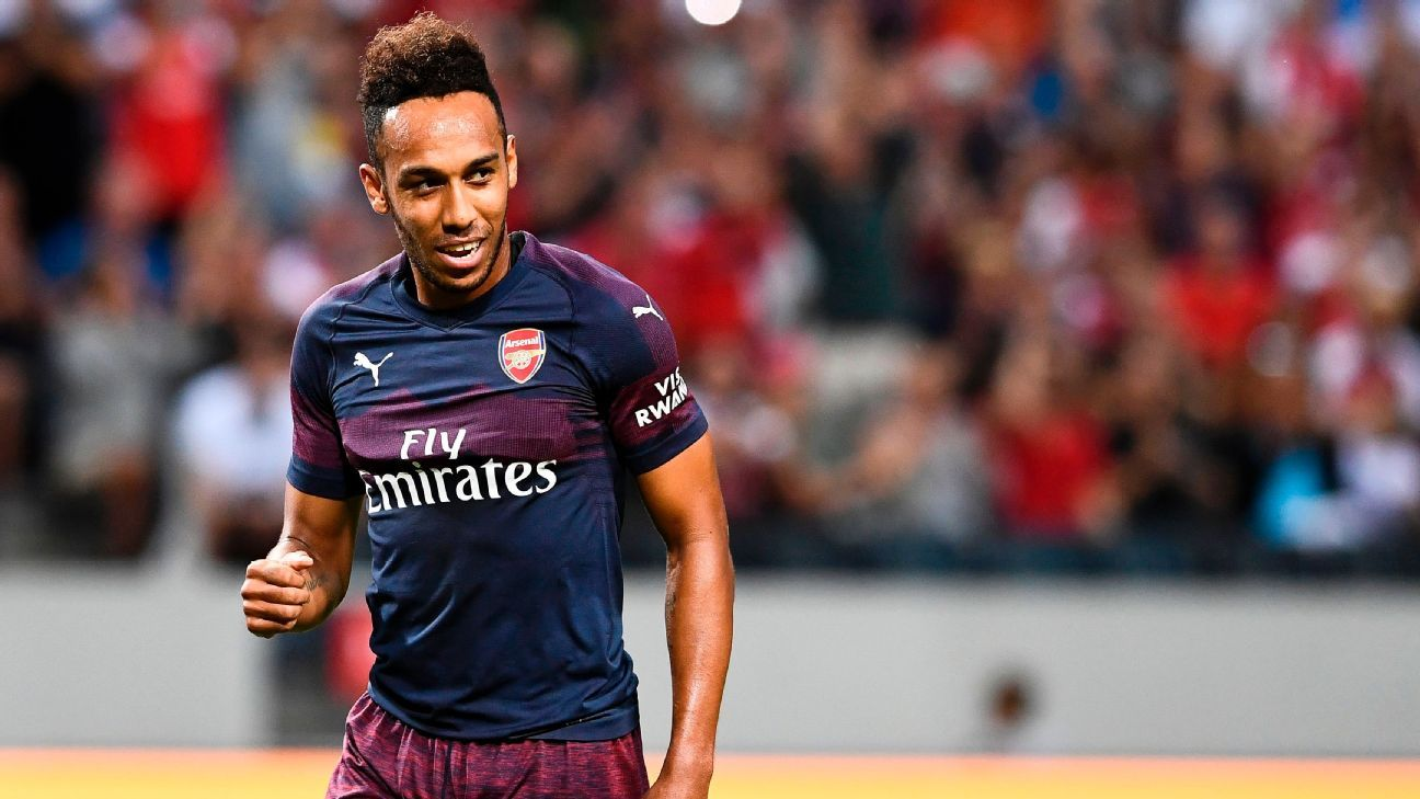 Pierre-Emerick Aubameyang has high hopes for Arsenal.