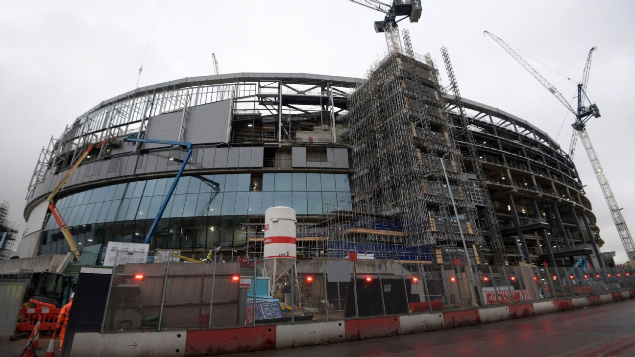 Safety concerns have pushed back Spurs' move to their new stadium.
