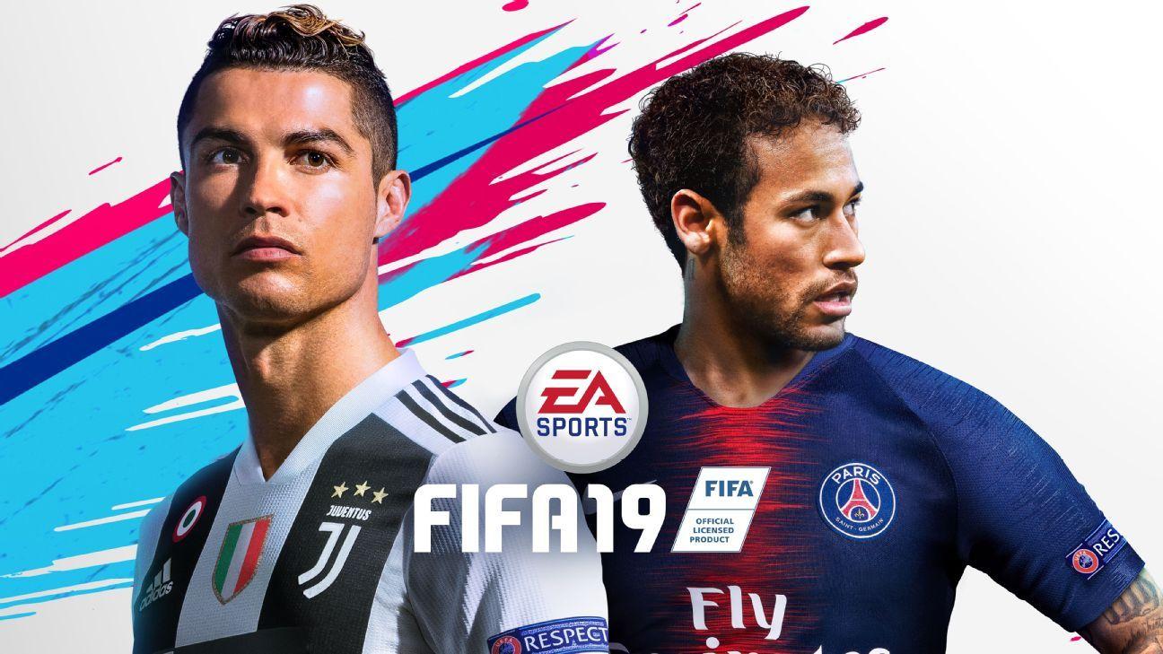 Cristiano Ronaldo shares the FIFA 19 Champions edition cover with Neymar.