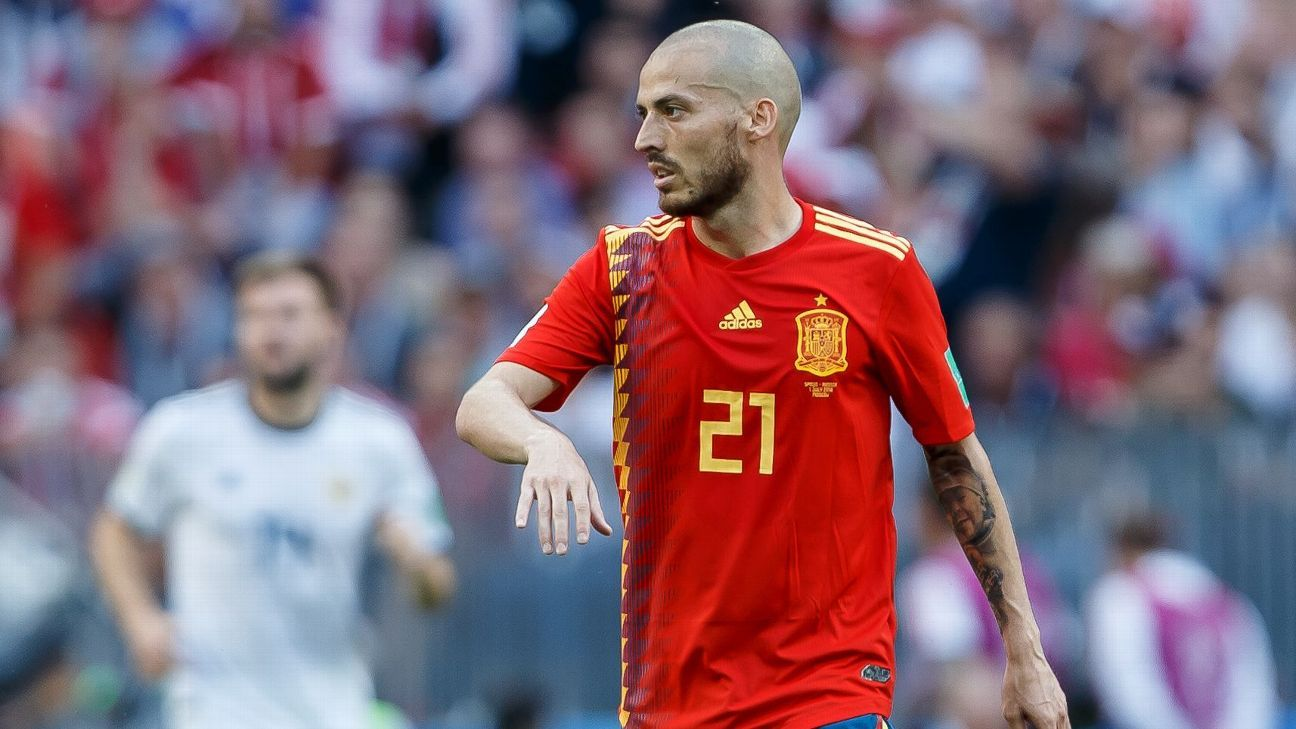David Silva won the World Cup and two European Championships with Spain.