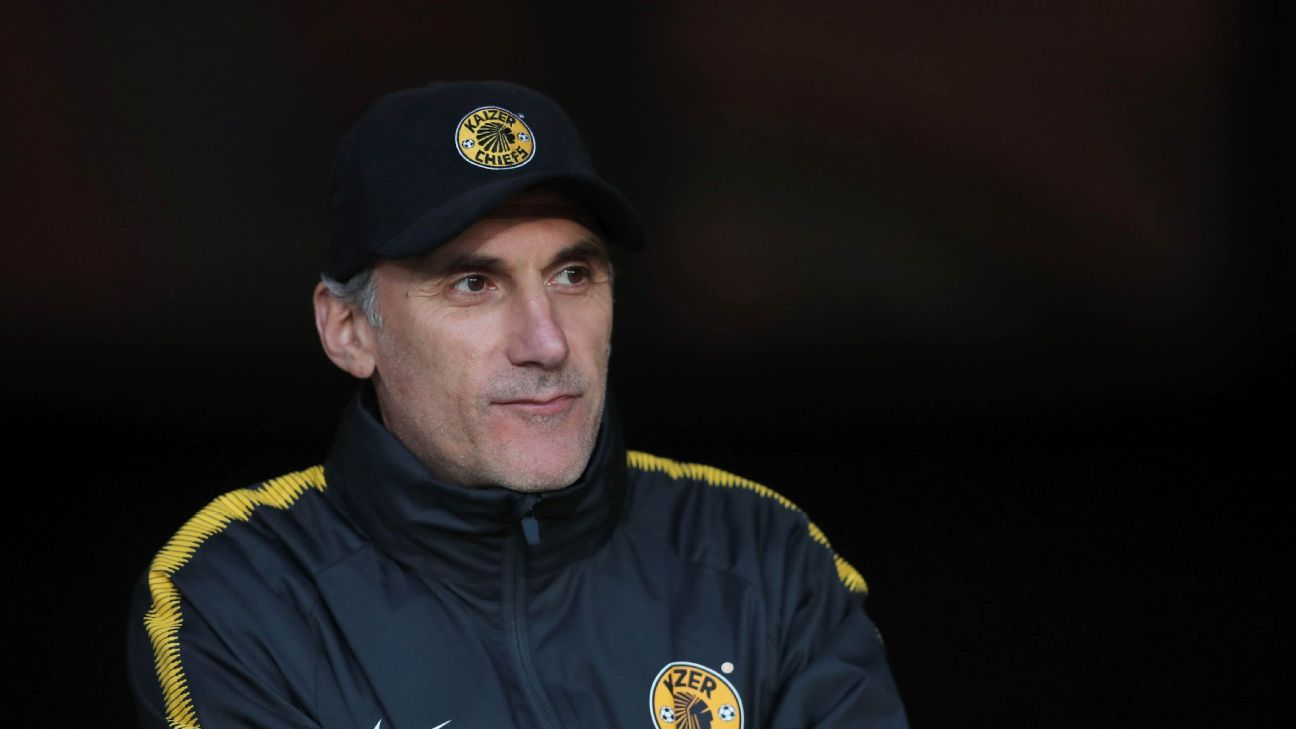 It's been a difficult start for new Kaizer Chiefs coach Giovanni Solinas