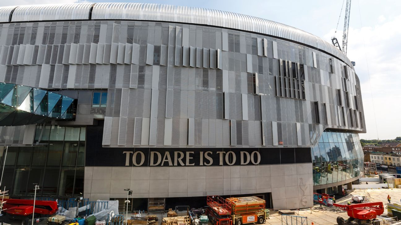 The opening of Spurs' new stadium has been delayed amid concern over safety systems.