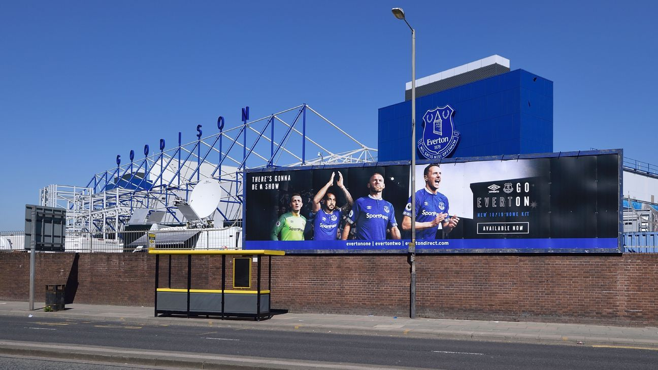 Everton's Goodison Park home.