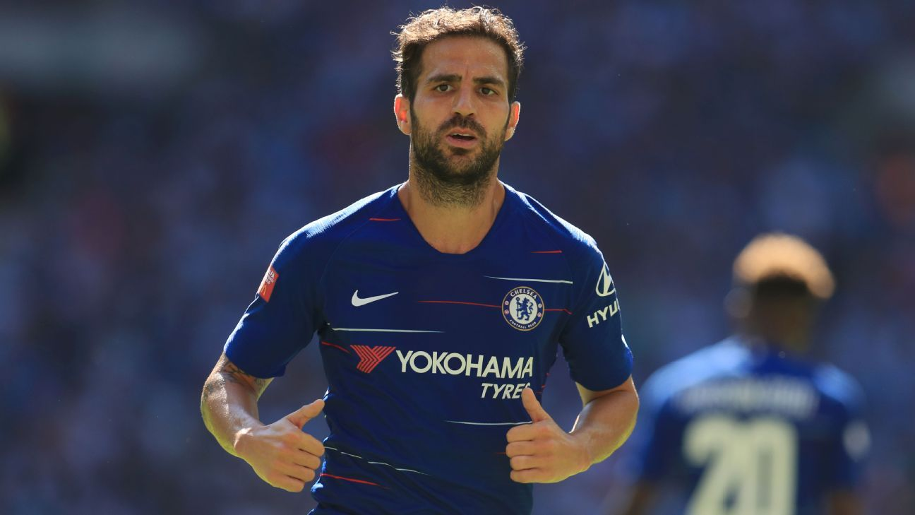 Cesc Fabregas could find it difficult to feature regularly under Maurizio Sarri at Chelsea.