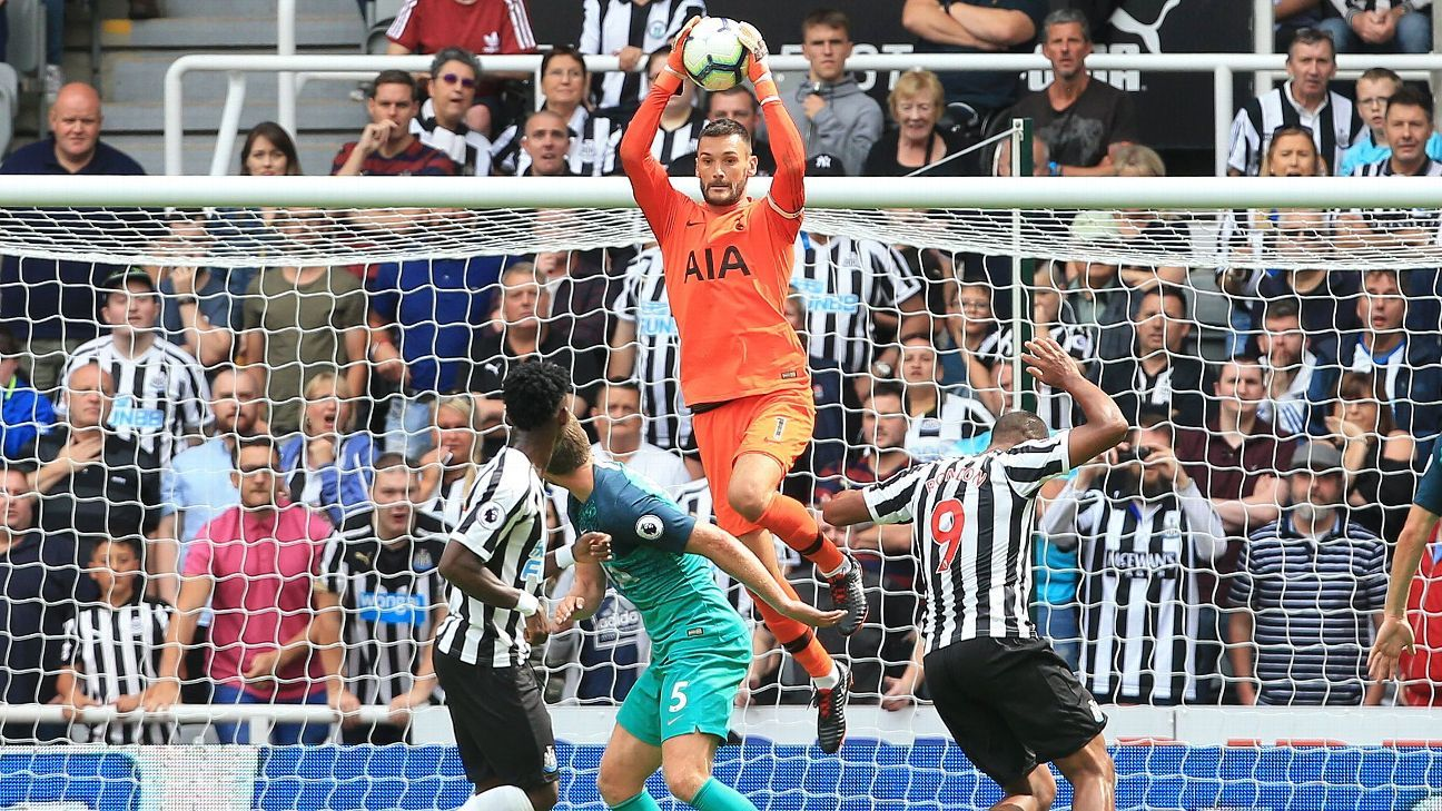 Hugo Lloris helped Tottenham earn the win in their Premier League opener against Newcastle.
