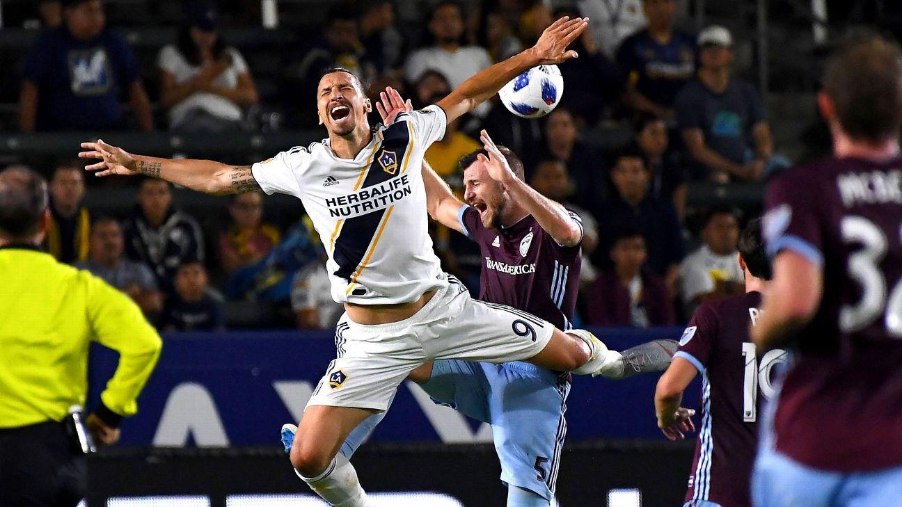 Colorado Rapids rally for 2-2 draw with LA Galaxy