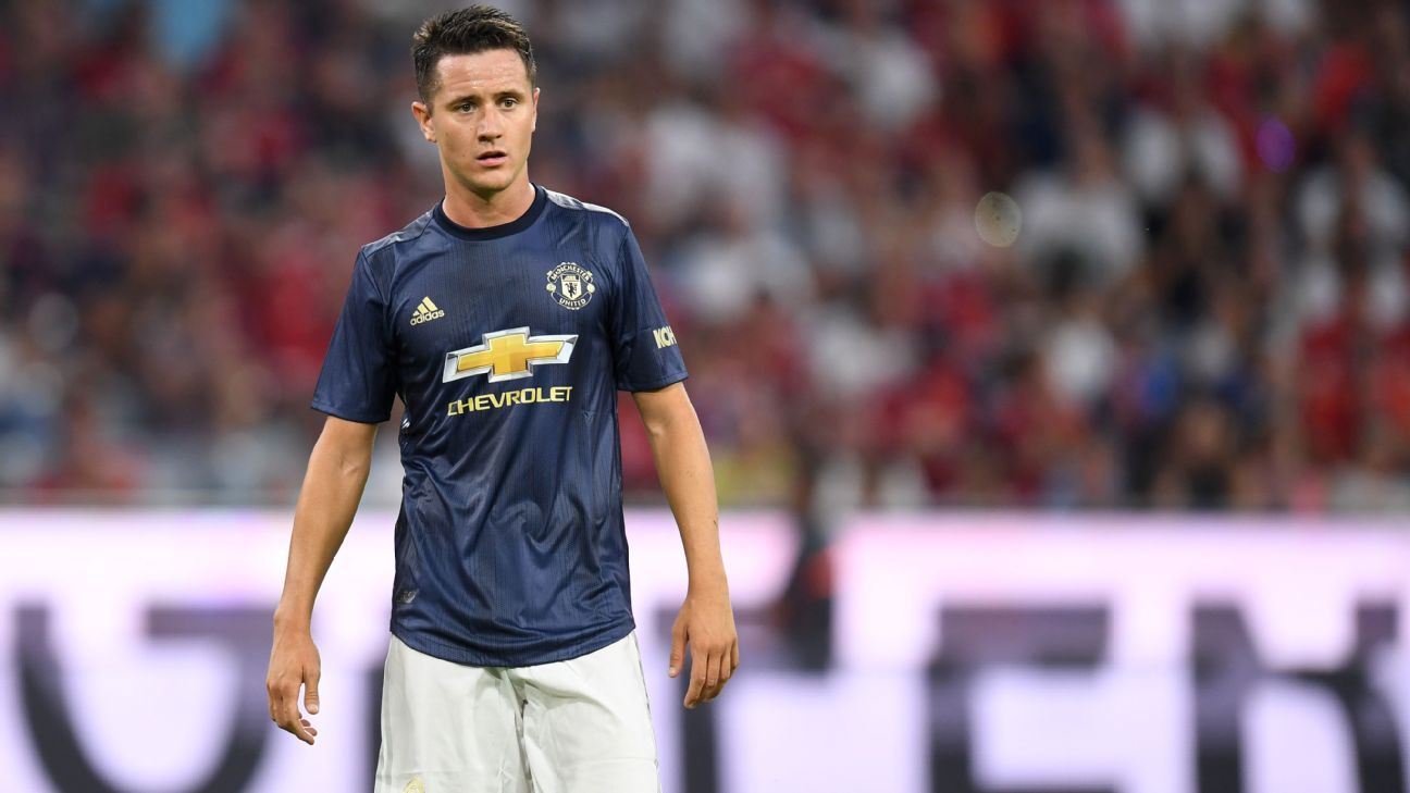 Ander Herrera faces competition for a place in Manchester United's midfield.