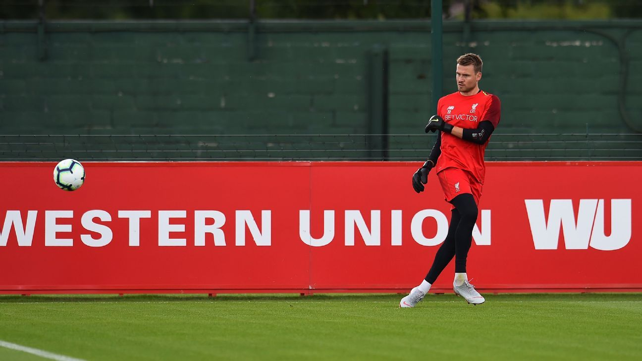 Simon Mignolet has fallen behind Alisson and Loris Karius at Liverpool.
