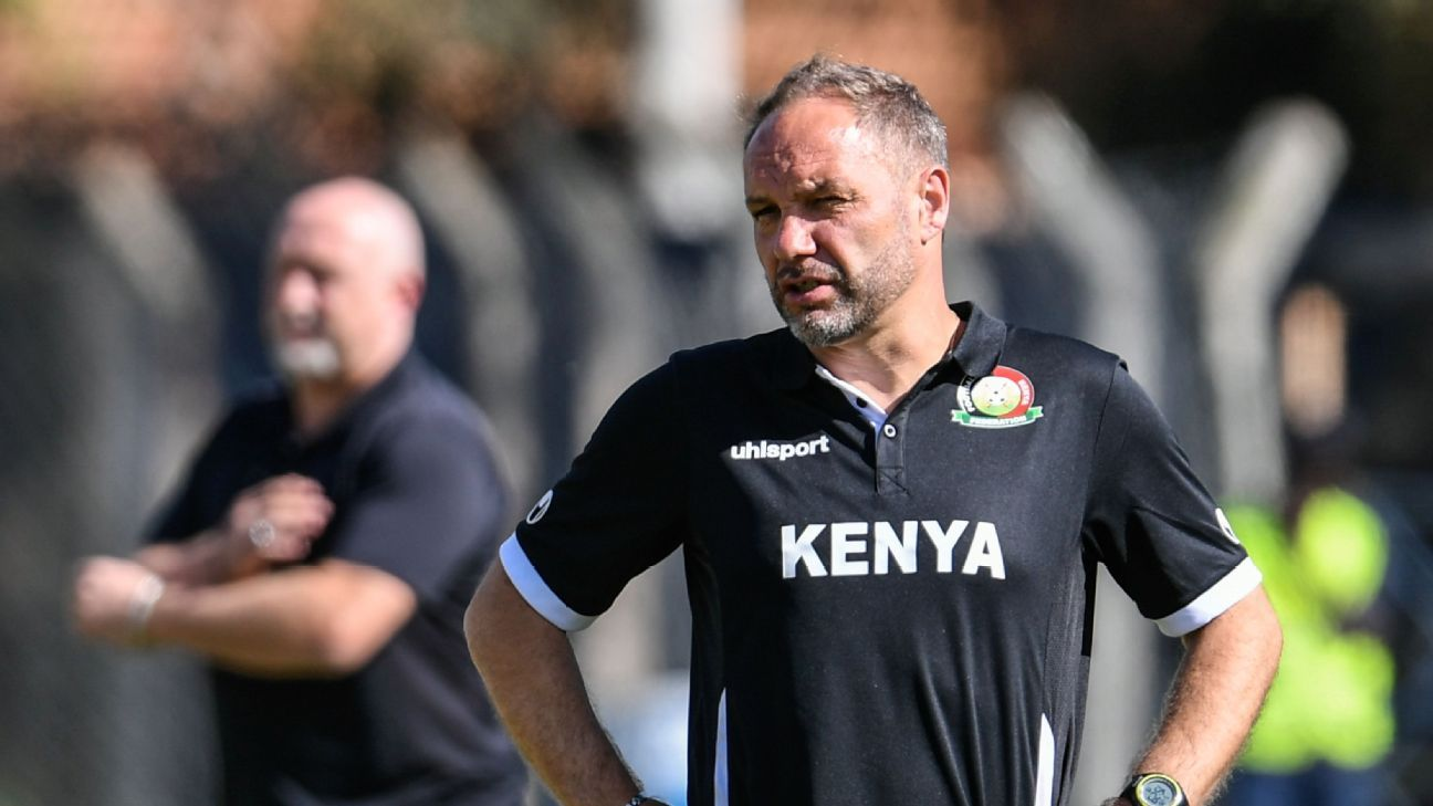 Kenya coach Sebastien Migne will see his 38-man squad gather in early September.