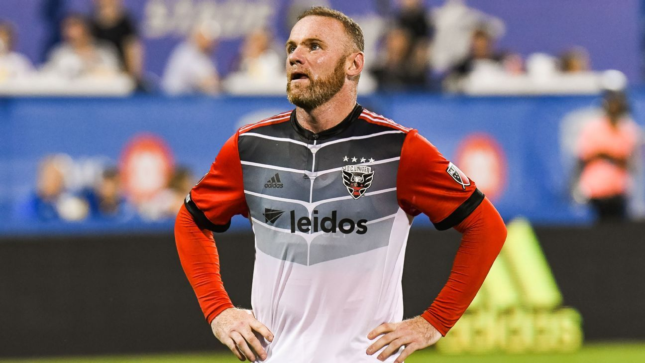 Wayne Rooney: I didn't join DC United 'to be on holiday' in MLS
