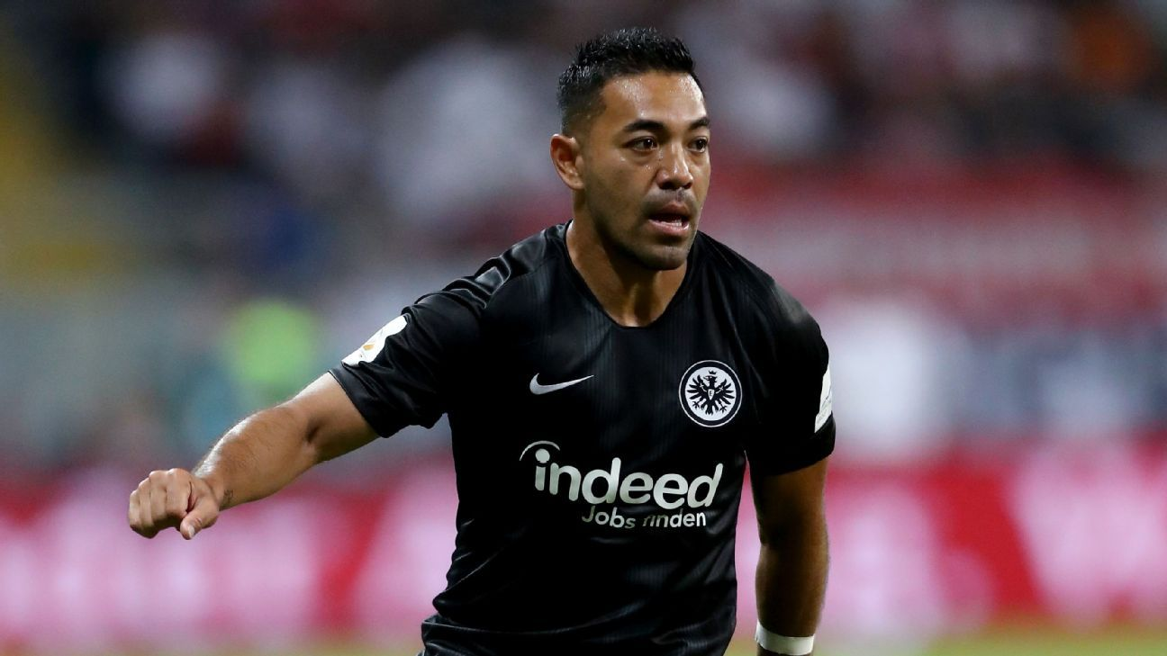Marco Fabian wants to fight for his place at Eintracht Frankfurt.