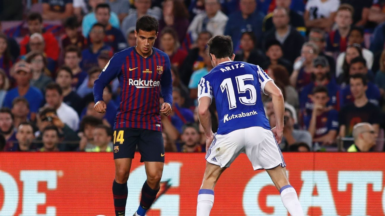 Philippe Coutinho tallied 10 goals and six assists last season for Barcelona but more is expected in 2018-19.