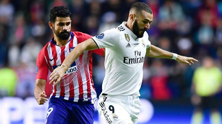 Karim Benzema will be one tasked with making up the goals for Real Madrid minus Cristiano Ronaldo.