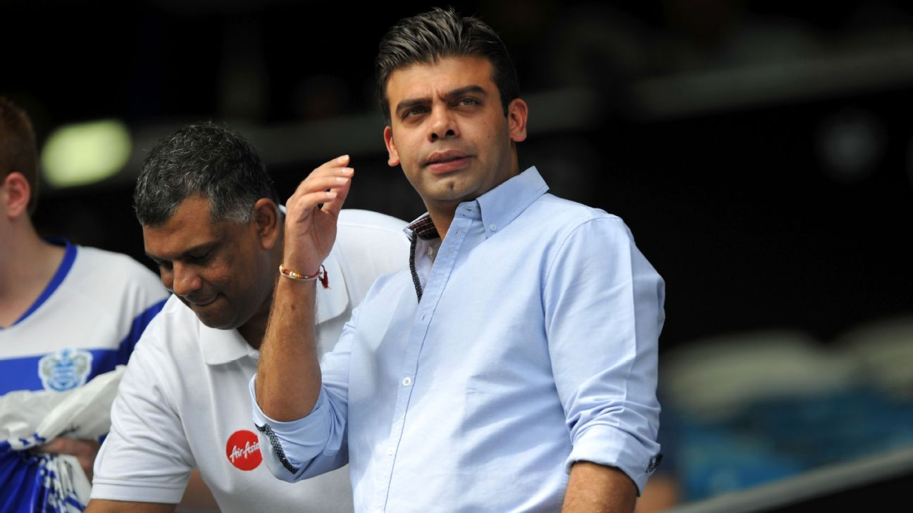 Amit Bhatia has been appointed QPR's new chairman.