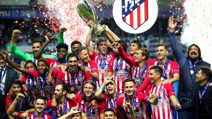 Atletico Madrid won the UEFA Super Cup for the first time since 2012 by defeating Real Madrid.
