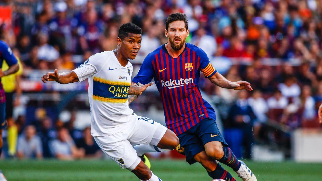 The huge talent disparity between Europe's elite and South America's elite was on display in Barcelona-Boca Juniors.