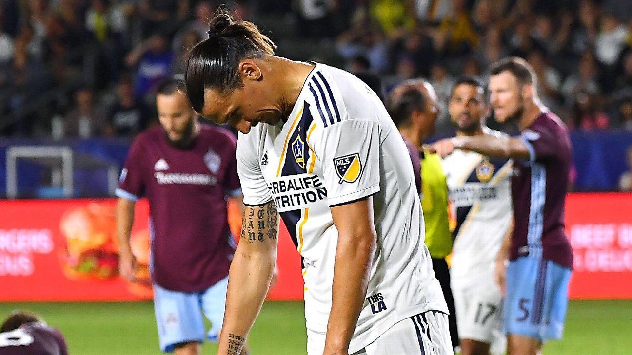 Zlatan Ibrahimovic unsure about returning to LA Galaxy
