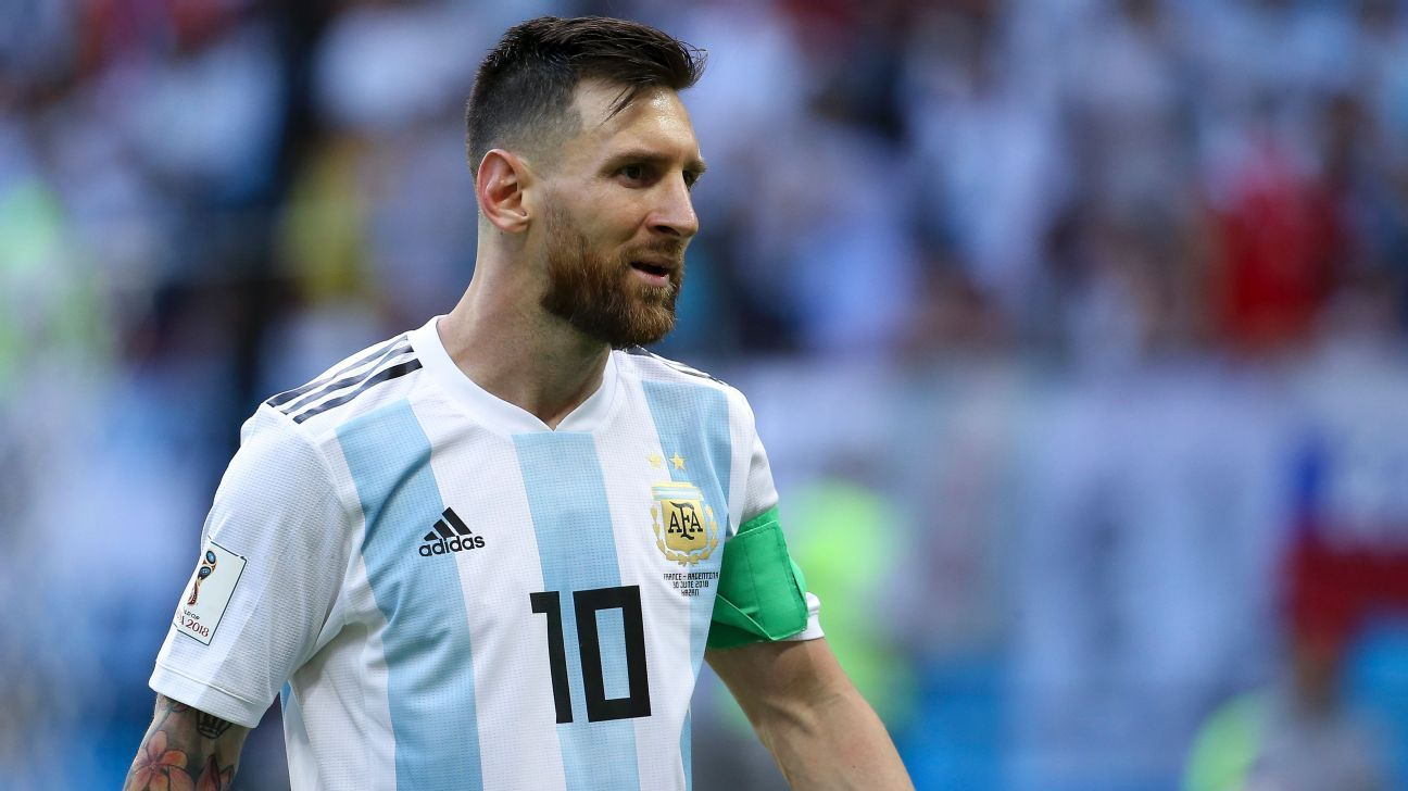 Lionel Messi was a frustrated figure with Argentina at the World Cup.