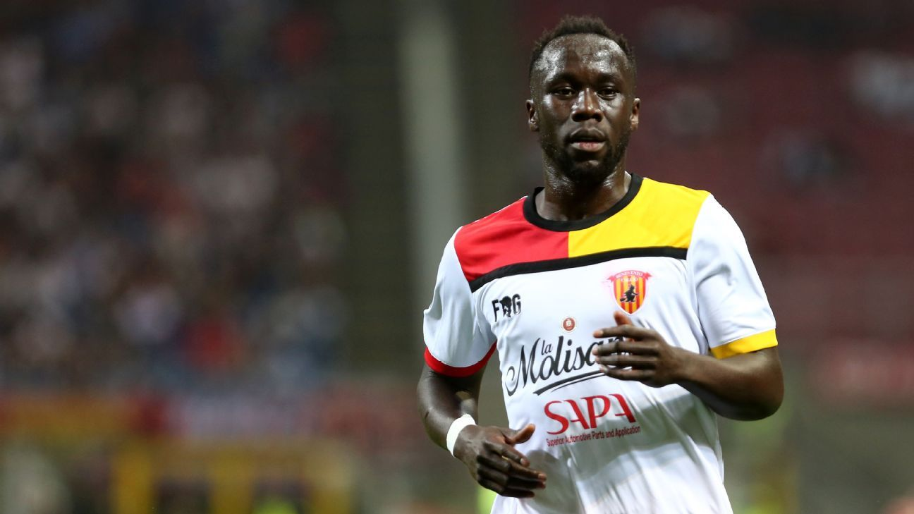 Bacary Sagna played for Benevento last season after leaving Manchester City.