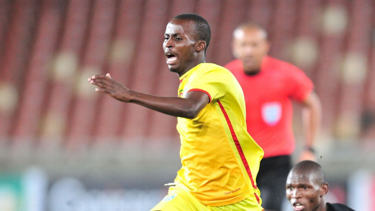 Terrence Dzvukamanja during the 2018 COSAFA Cup