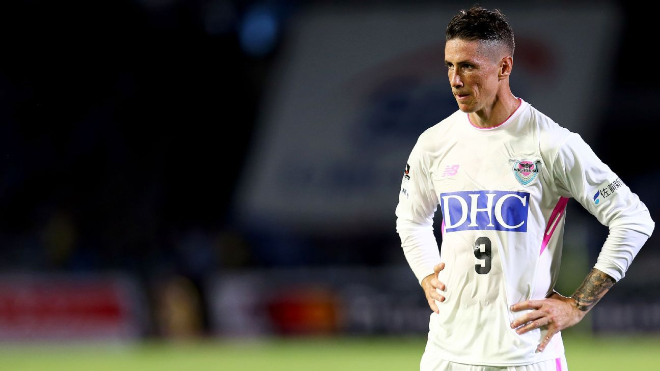 Fernando Torres joined Japanese club Sagan Tosu following his second spell at Atletico Madrid