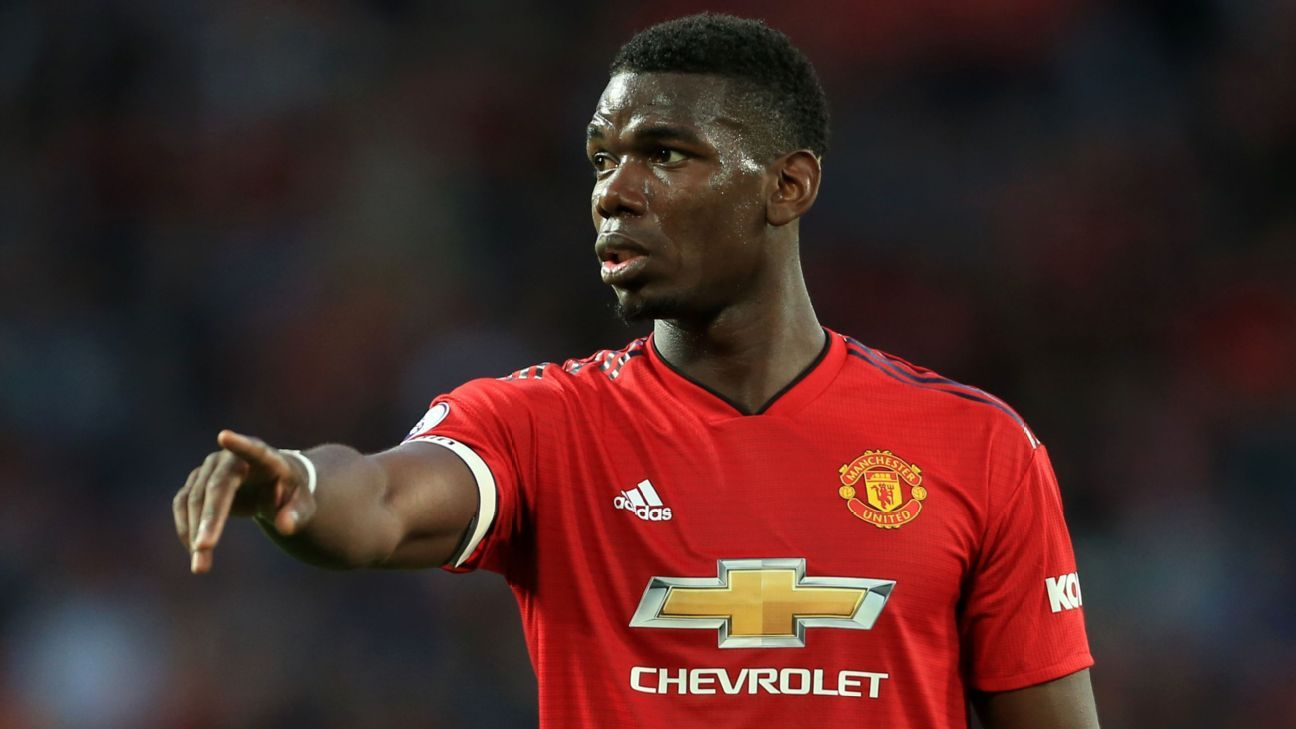 Paul Pogba captained Manchester United for their opening-day win over Leicester