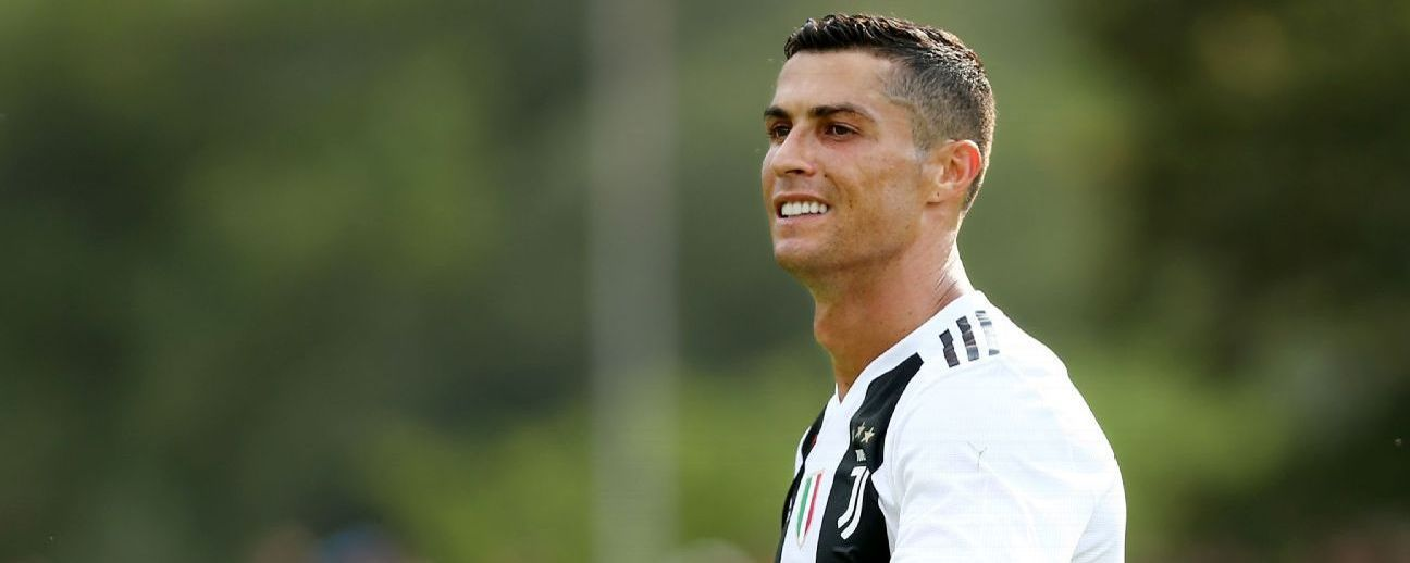 Cristiano Ronaldo of Juventus FC during the pre-season friendly match between Juventus and Juventus U19.