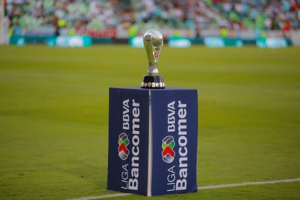 The Liga MX trophy is handed out twice per year for the winners of the Apertura and Clausura tournaments.
