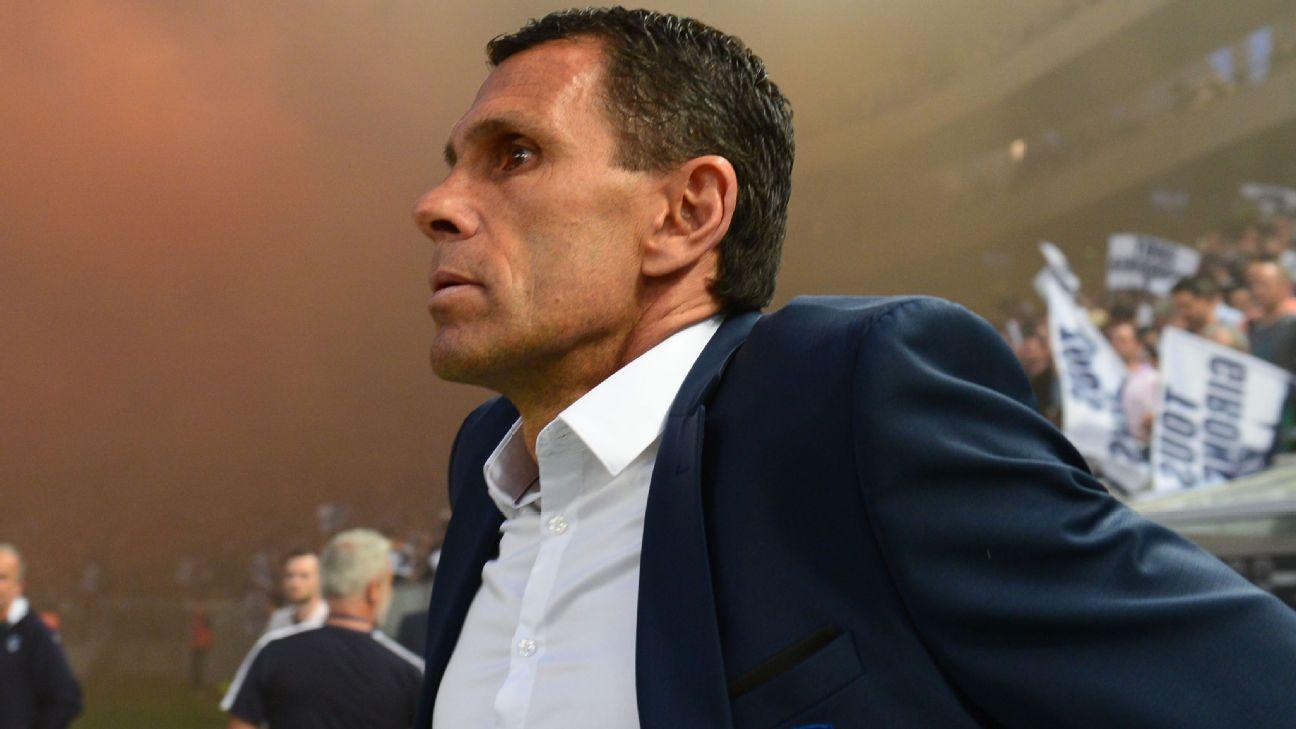 Gus Poyet reacted furiously to the sale of striker Gaetan Laborde.