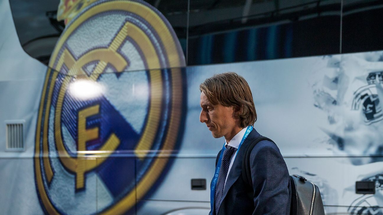 Luka Modric played an instrumental part of Real Madrid's three consecutive Champions League triumphs