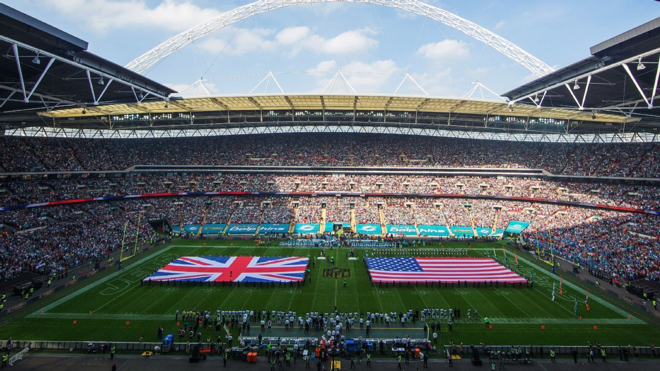 NFL matches at London's Wembley Stadium regularly sell out