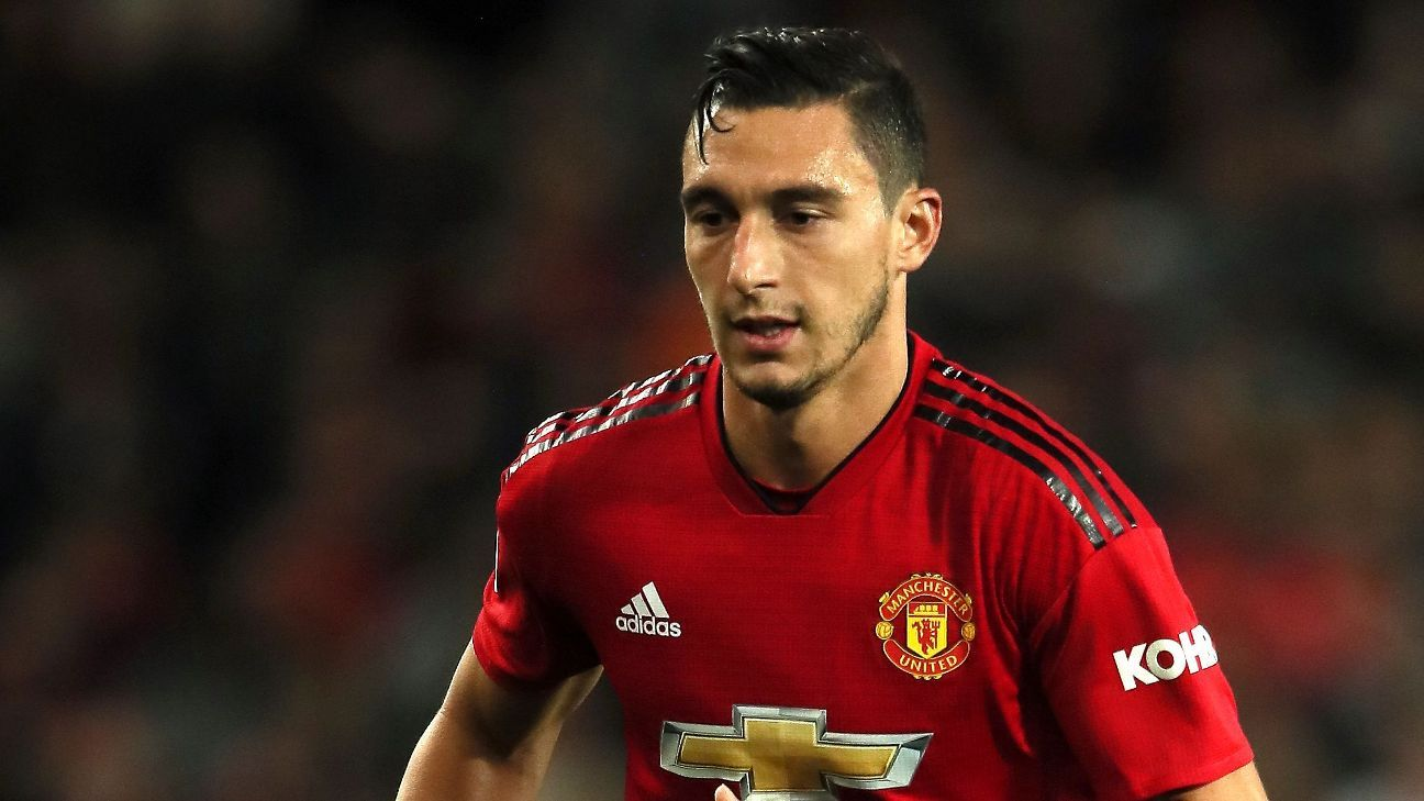Matteo Darmian was told he could leave Manchester United in the summer transfer window