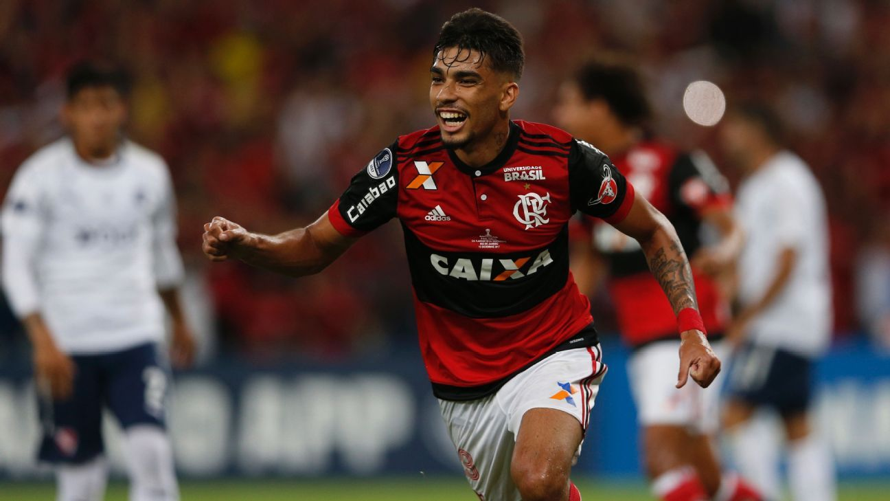 Flamengo midfielder Lucas Paqueta received his first Brazil call-up on Friday.