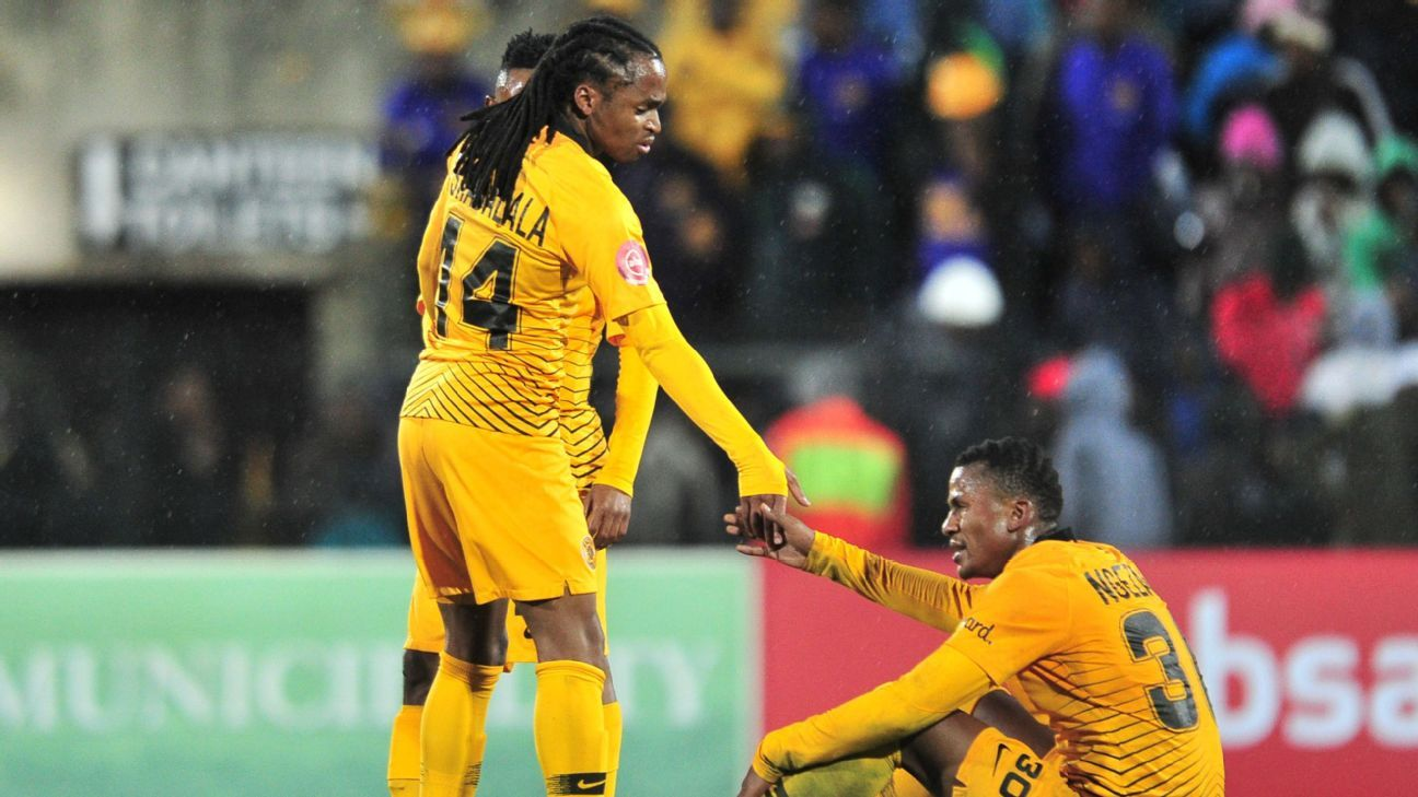 Kaizer Chiefs players like Siphiwe Tshabalala and Siyabonga Ngezana were left frustrated by their inability to score against Maritzburg United in their Absa Premiership clash, even more so becose the hosts had a player sent off