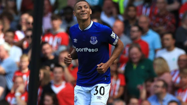 Richarlison has looked a good buy so far with three goals in two games for Everton.