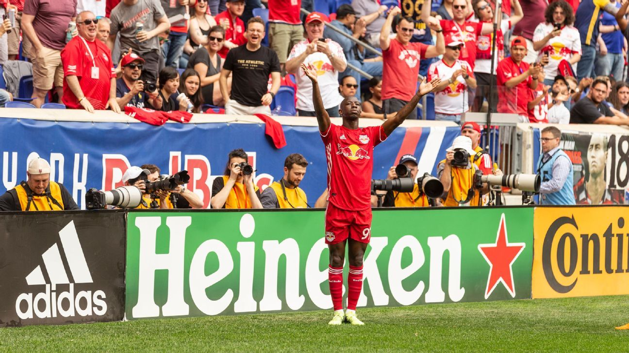 Bradley Wright-Phillips has tormented NYCFC with 11 goals in 12 games.