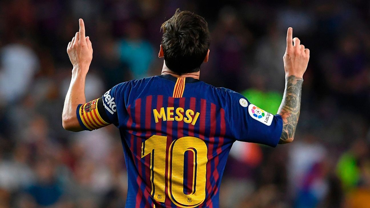 Lionel Messi started 2018-19 with a bang, bagging a brace in a season-opening win over Alaves.