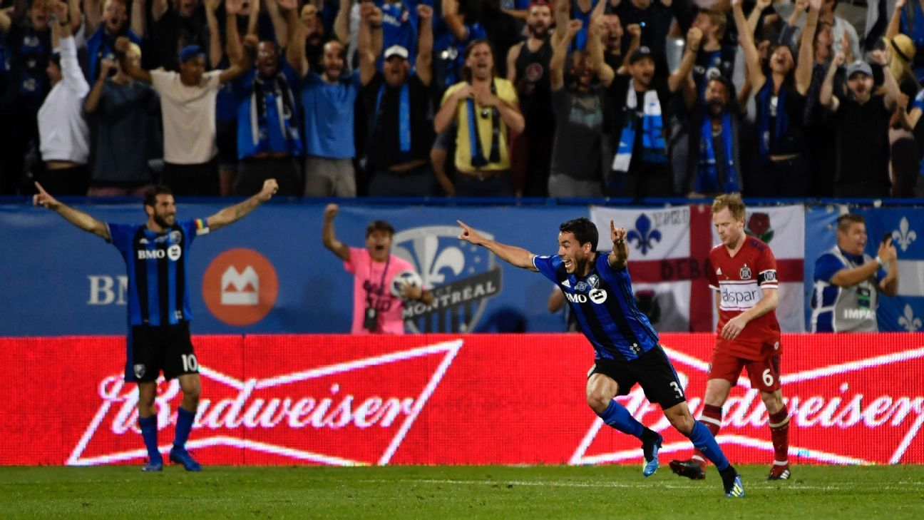 Daniel Lovitz scores in stoppage-time as Montreal Impact edge the Chicago Fire