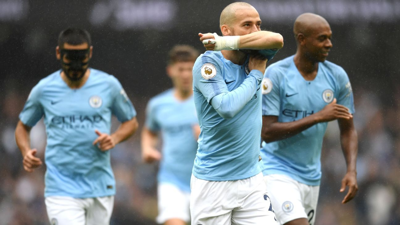 David Silva was outstanding as Manchester City showed exactly why they're the team to fear.