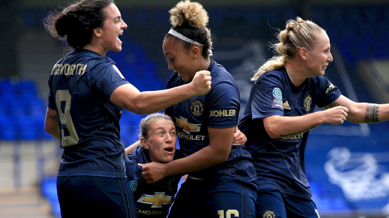 Manchester United women's team picked up a huge win over rivals Liverpool.