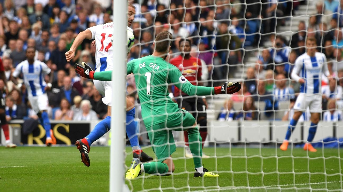 Glenn Murray's deft finish set Brighton the way to victory vs. Man United.
