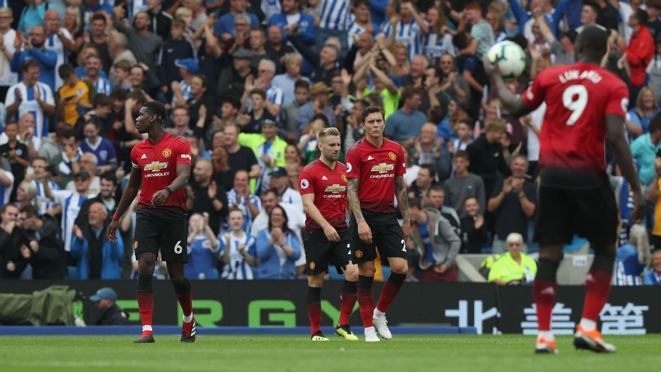 Manchester United slumped to a dismal defeat at Brighton, raising question marks over their direction.